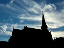 ChurchSilhouette