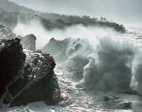 Waves upon theRock