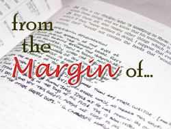 From the Margin of...