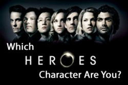 Which Heroes Character Are You?